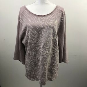 Anthropologie Sweater oversized Knit top 612